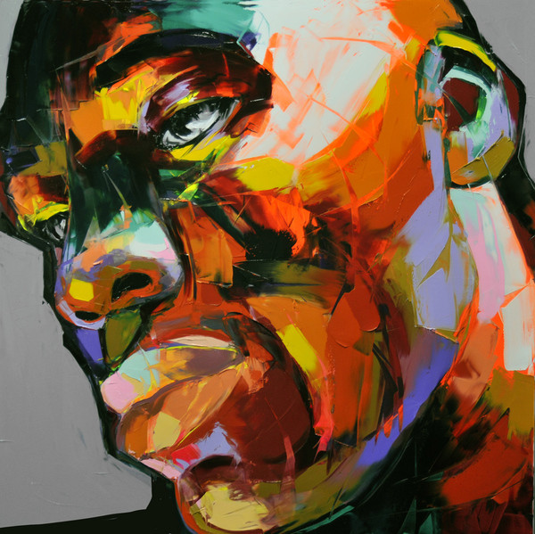 Francoise Nielly Palette Impression Portrait Painting Face057