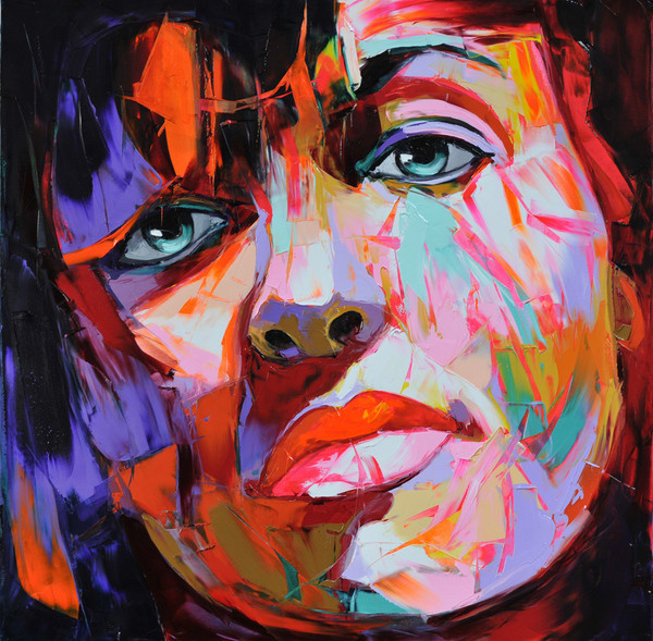 Francoise Nielly Palette Impression Portrait Painting Face058