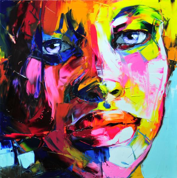 Francoise Nielly Palette Impression Portrait Painting Face059