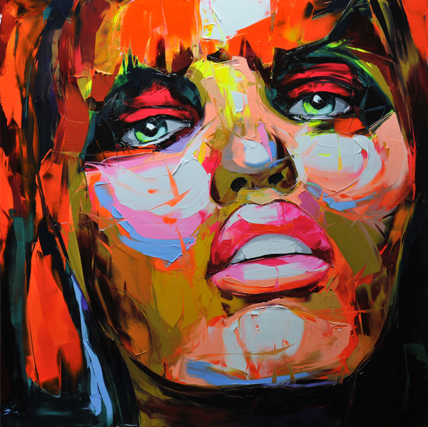 Francoise Nielly Palette Impression Portrait Painting Face060