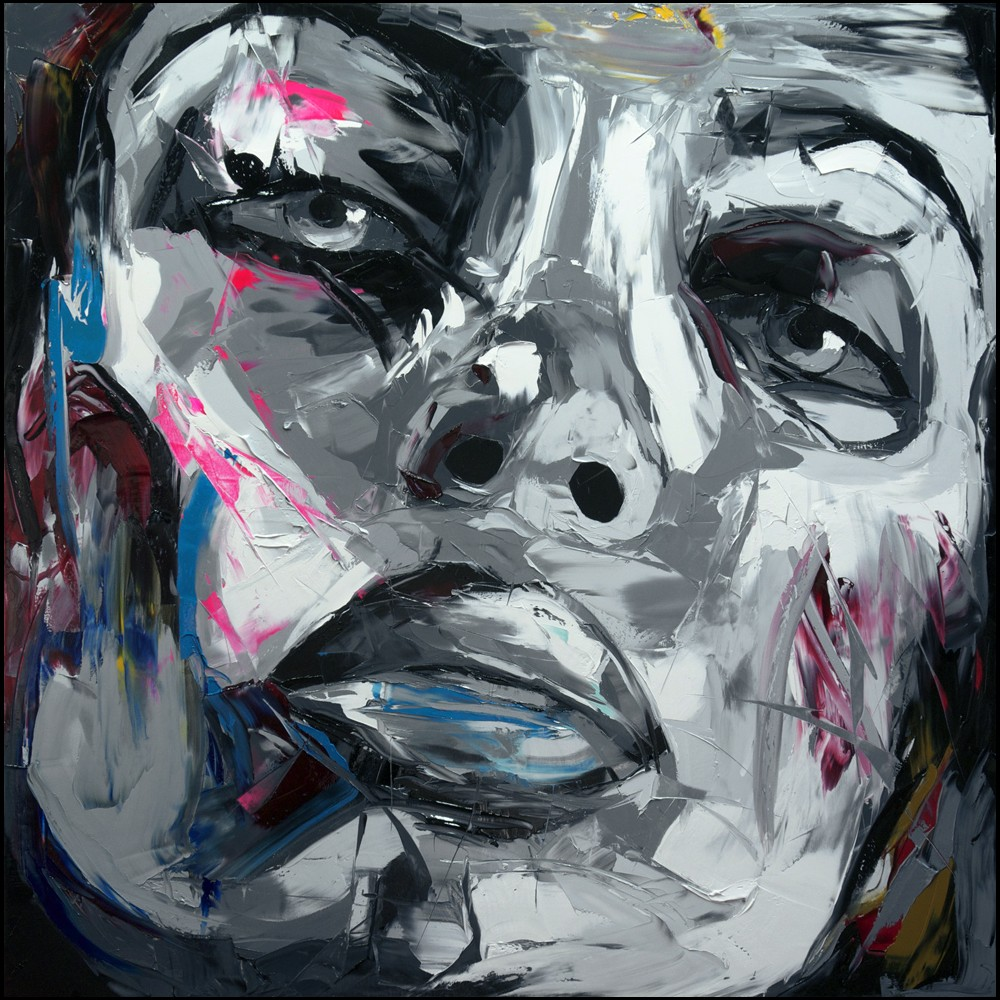 Francoise Nielly Palette Impression Portrait Painting Face124