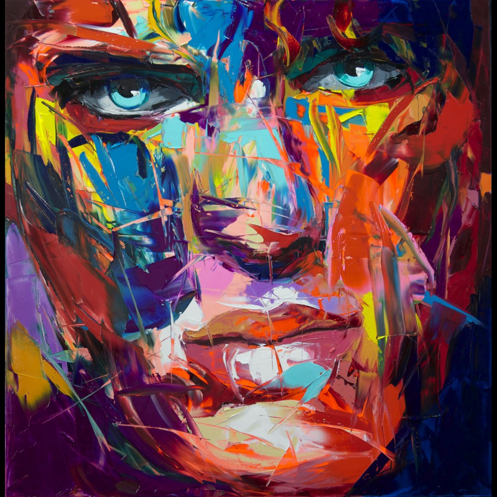 Francoise Nielly Palette Impression Portrait Painting Face127