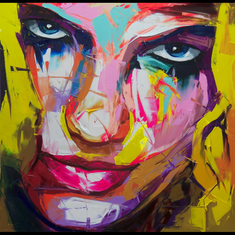 Francoise Nielly Palette Impression Portrait Painting Face129