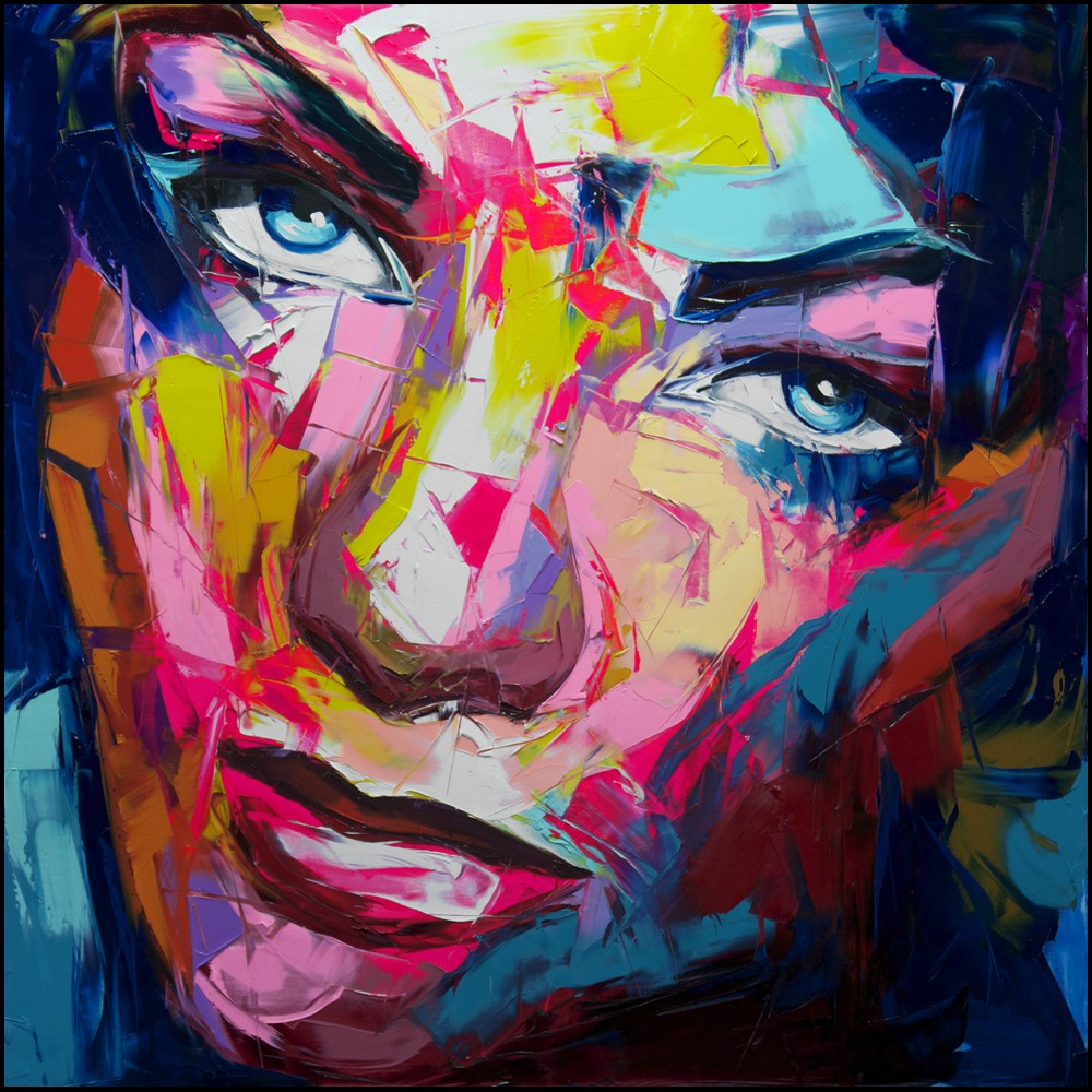 Francoise Nielly Palette Impression Portrait Painting Face130