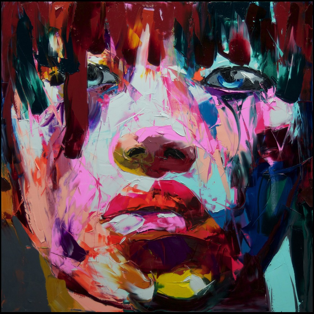 Francoise Nielly Palette Impression Portrait Painting Face131