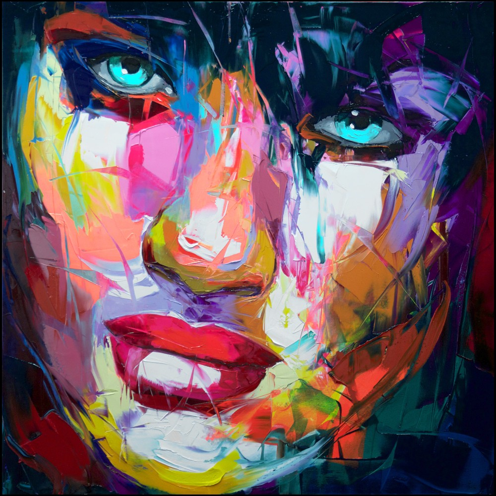 Francoise Nielly Palette Impression Portrait Painting Face132