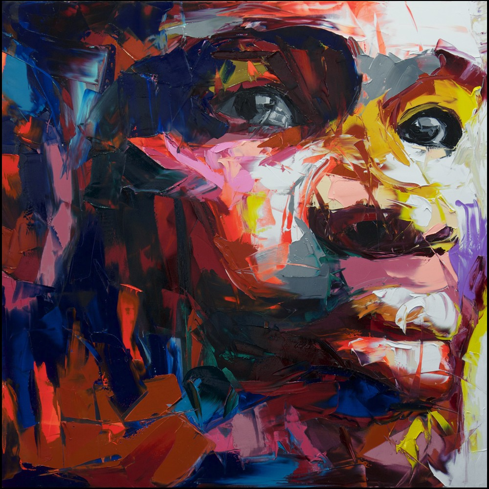 Francoise Nielly Palette Impression Portrait Painting Face133