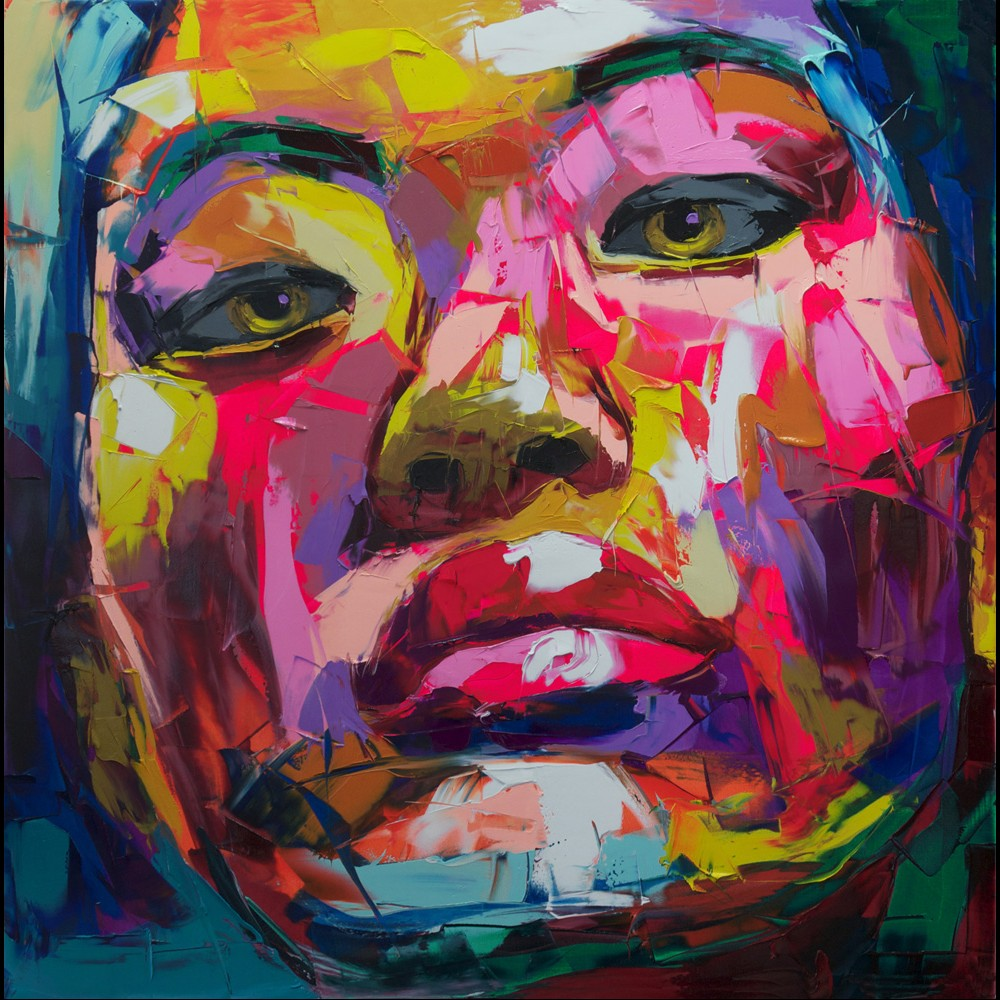 Francoise Nielly Palette Impression Portrait Painting Face134