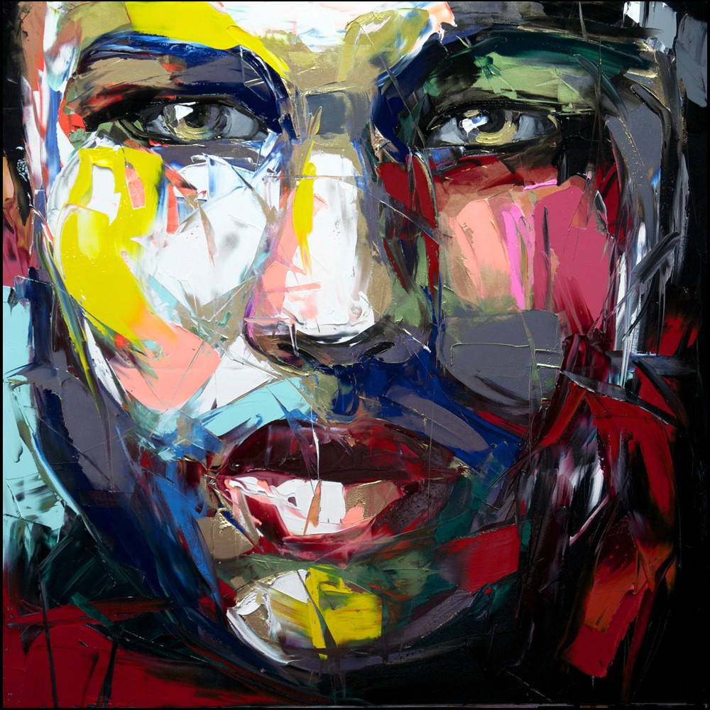 Francoise Nielly Palette Impression Portrait Painting Face135