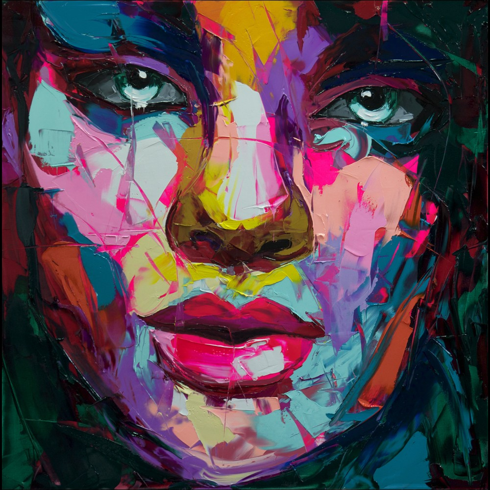 Francoise Nielly Palette Impression Portrait Painting Face136