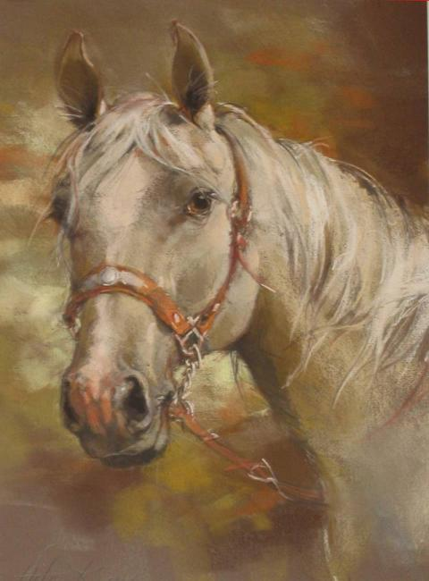 Dafen Oil Painting on canvas -horse047