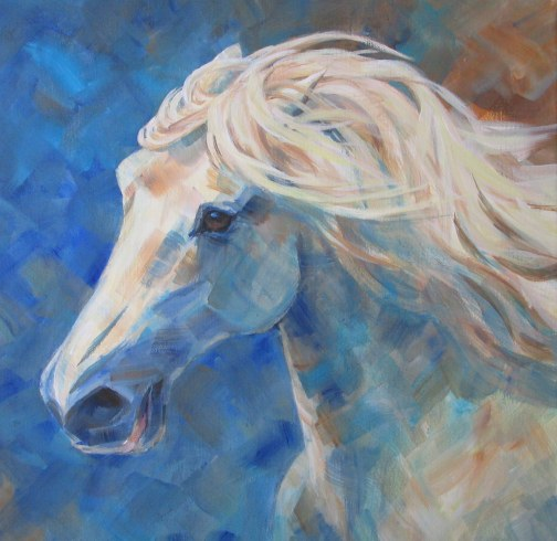 Dafen Oil Painting on canvas -horse078