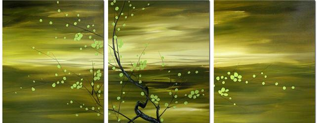 Dafen Oil Painting on canvas tree -set018