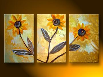 Dafen Oil Painting on canvas flower -set106