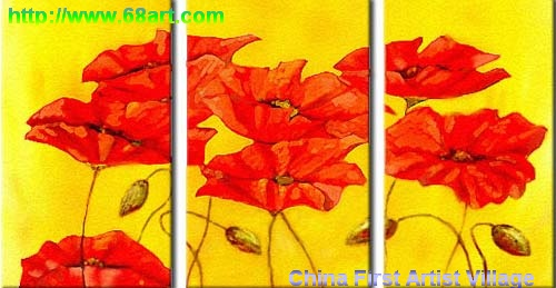 Dafen Oil Painting on canvas water lily -set208