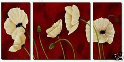 Dafen Oil Painting on canvas flower -set228