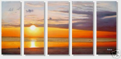 Dafen Oil Painting on canvas seascape painting -set244