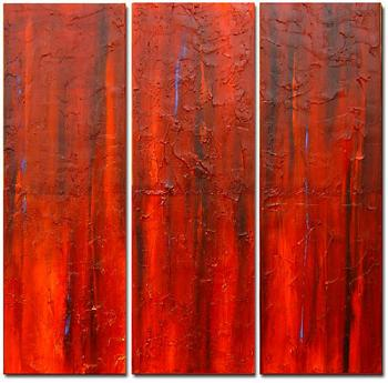 Dafen Oil Painting on canvas abstract -set310