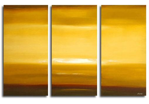 Dafen Oil Painting on canvas sunglow -set311