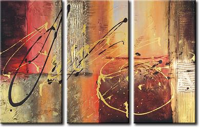 Dafen Oil Painting on canvas abstract -set329