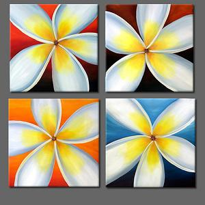 Dafen Oil Painting on canvas flower -set398