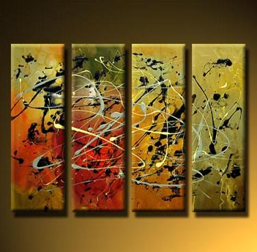 Dafen Oil Painting on canvas abstract -set423