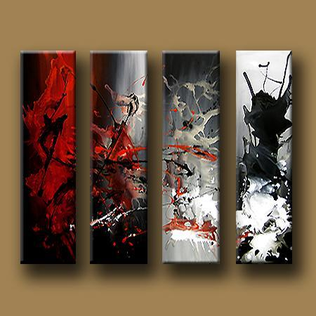 Dafen Oil Painting on canvas abstract -set424