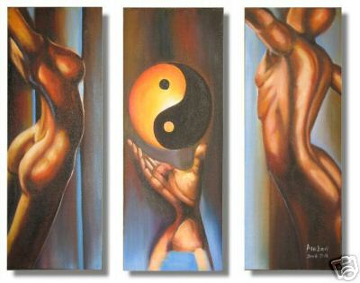 Dafen Oil Painting on canvas power -set460