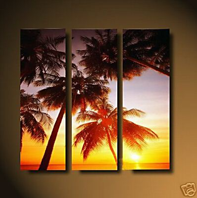 Dafen Oil Painting on canvas sunglow -set464