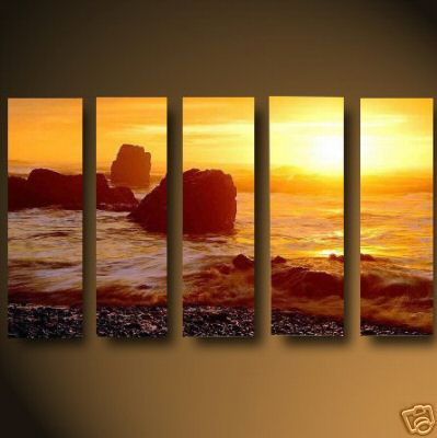 Dafen Oil Painting on canvas seascape painting -set471
