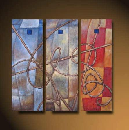 Dafen Oil Painting on canvas abstract -set513