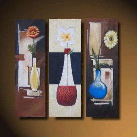 Dafen Oil Painting on canvas flower -set520