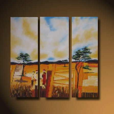 Dafen Oil Painting on canvas country -set521