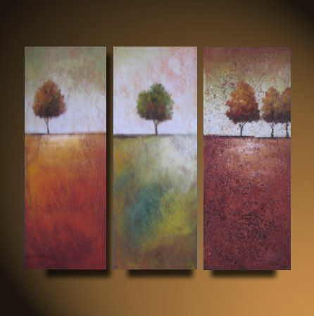Dafen Oil Painting on canvas tree -set522