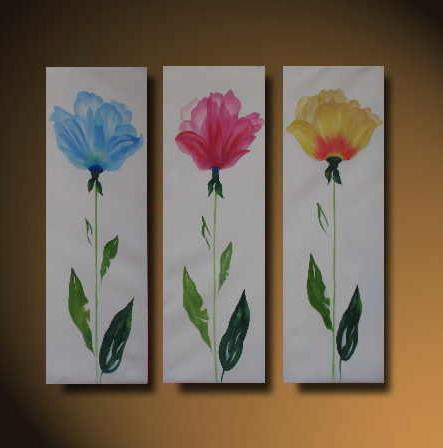 Dafen Oil Painting on canvas flower -set527