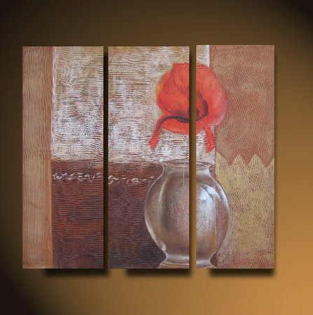 Dafen Oil Painting on canvas flower -set530