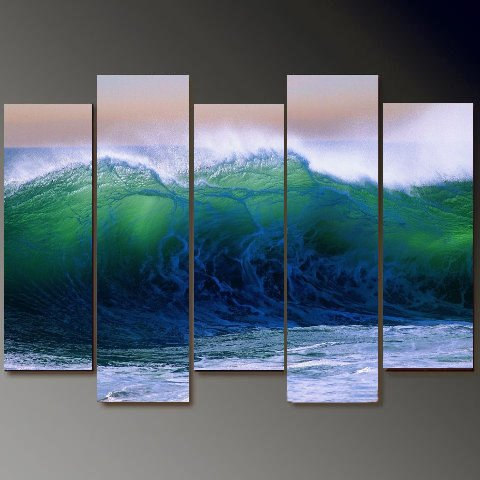 Dafen Oil Painting on canvas seascape painting -set700